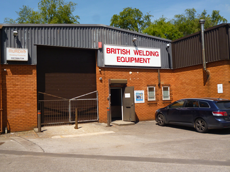 British Welding Equipment warehouse unit