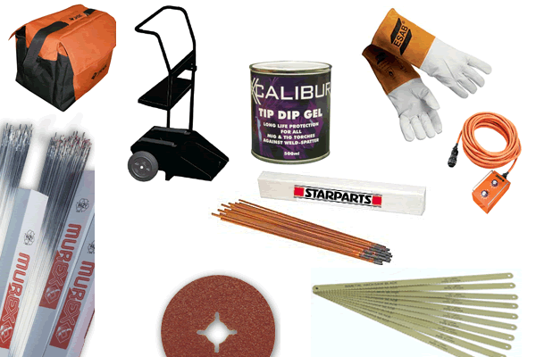accessories and abrasives and consumables
